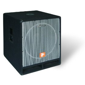 Technical Pro SUB-1501X Carpeted 1500 Watt Passive Subwoofer (Black)
