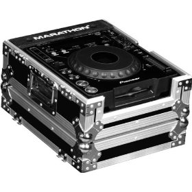 Marathon Flight Ready Case MA-CDJ Case for Pioneer CDJ1000, CDJ800, Denon Dn-S3500, Dn-S3700, And All Other Large Format CD/Digital Turntables