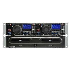 Brand New Gemini Cdx-2500g Professional Dual Dj/karaoke Cd, Cd-g Player with Pitch Control, Pitch Bending, Auto Cue, Instant Start and the Best Features