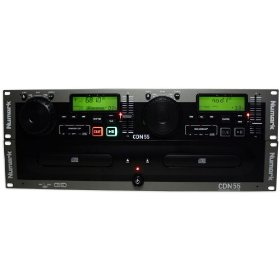 Brand New Numark Cdn55 Dual Dj Rack-mount Cd Player
