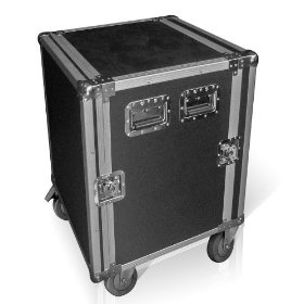 Brand New Top of the Line Technical Pro Fc14u 14u Rack Mount Dj Road Flight Case with 14 Rack Spaces