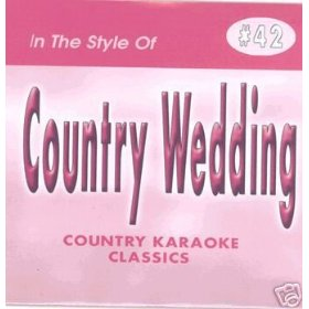 COUNTRY WEDDING Country Karaoke Classics CDG Music CD