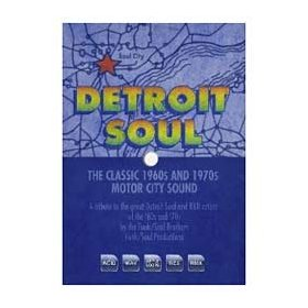 Detroit Soul: The Classic 1960s & 1970s Motor City Sound
