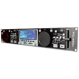 Pyle-Pro - Professional DJ Dual USB MP3/SD/USB Player w/ Scratch Function
