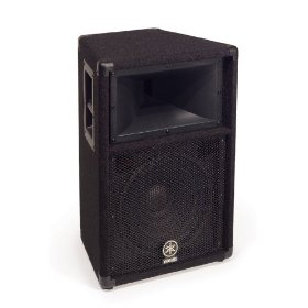 Yamaha S112V Carpeted 12-inch 2 Way Loudspeaker System