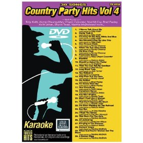 Forever Hits 4904 Country Party Hits Vol 4 (30 Song DVD)