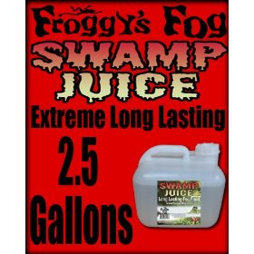 Froggys Swamp Fog Juice Worlds Greatest Fog Fluid - 2.5 Gallons