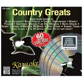 Forever Hits 9165 Country Greats (4 Discs 60 Songs)