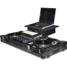 FZGSBM12WBL Black Label DJ Case