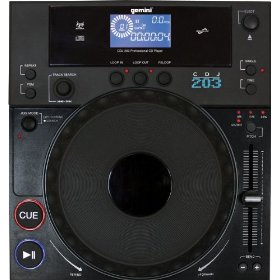 Gemini CDJ-203 Tabletop Single CD Player
