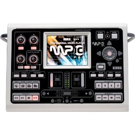 Korg MP-10 Pro Professional Media Player w/ dual Song Players, TC Helicon vocal effects and full-color touch screen control
