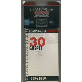 Leadsinger 30 Gospel Music Kartridge with Song Book