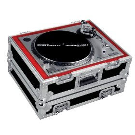 Marathon Flight Ready Case MA-1200V2 Heavy Duty Turntable Deluxe Case Fits Technics 1200 & All Other Brand Turntables Such As: Numark, Stanton