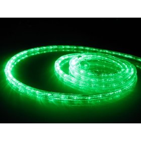 18Ft Rope Lights; Emerald Green LED Rope Light Kit; 1.0