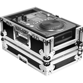 Marathon Flight Ready Case MA-CDi Case for Single American Audio Radius CDi 300MP3, 500MP3, Numark ICDx And All Other Medium Format CD Players