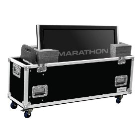 Marathon Flight Ready Case MA-Plasma63W Universal Case With Casters for Plasma Monitors Up To 63 Inch