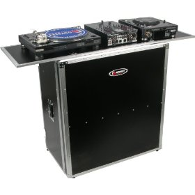 Odyssey FZF5437T Flight Zone 54 Wide, 37 High Foldout Combo Dj Table