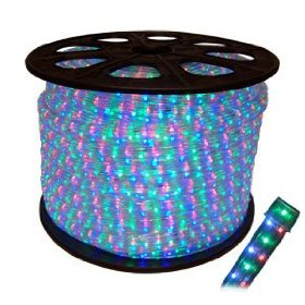 RGB DMX led rope light by the meter
