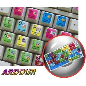 NEW ARDOUR DIGITAL AUDIO WORKSTATION STICKER FOR KEYBOARD