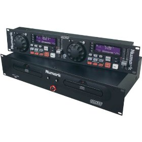 NUMARK CDN-35 Professional Dual Rackmount CD Player