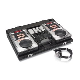 Numark Fusion 494 Complete CD DJ Package with 2-Channel Mixer