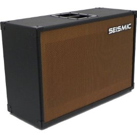 Empty 212 GUITAR SPEAKER CABINET Vintage Style with Tolex and Wheat Cloth Grill - 2x12 PA/DJ PRO AUDIO (No Speakers)