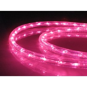 18Ft Rope Lights; Pink LED Rope Light Kit; 1.0