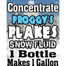 Snow Machine Fluid Concentrate - Makes 1 Gallon