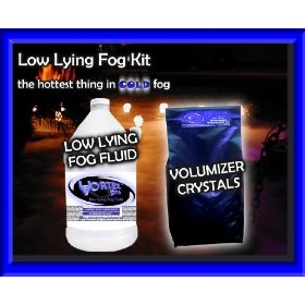 Vortex Professional Low Lying Fog Fluid & Volumizer KIT