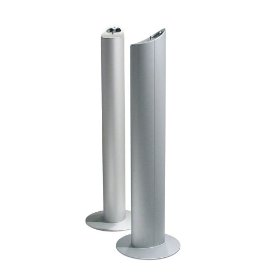 KEF KHT5005FLRST Floor Stand for KHT5005 Speaker System (Silver)