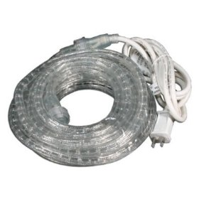 Utilitech Extra-bright Clear Rope Light 48ft.