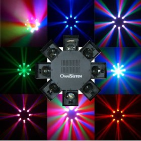 OmniSistem LED Dancer Intelligent Light Effect, Black