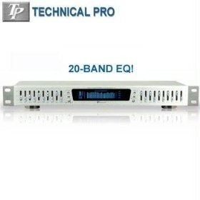 PROFESSIONAL EQUALIZER WITH DIGITAL SPECTRUM