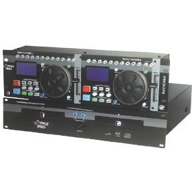 Pyle-Pro PDCD770 - Professional Dual CD Player