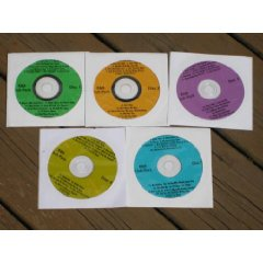 Music Maestro CDG Karaoke 5 Disk R+B CLUB PACK SET - 92 Songs Soul, Motown, Rhythm and Blues