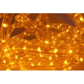 *12 Voltage* Amber 6.6 FT LED Rope light Kit, 1.0