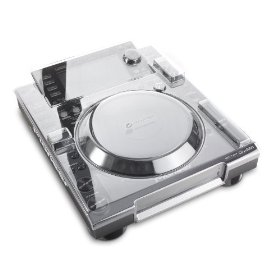 Decksaver Protective Cover and Clear Faceplate for Pioneer CDJ-2000 (Clear)