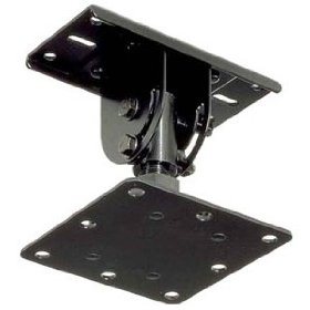 TOA HY-30 Ceiling Mount Bracket Designed for use with F-505605WP Series Speakers, Black Color