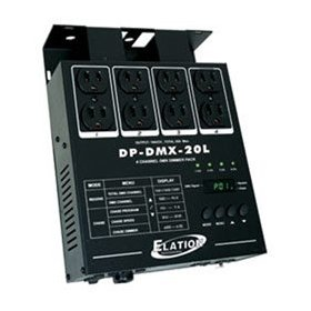 American DJ DPDMX20L 4 Channel Dimmer Pack