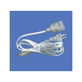 1/2 inch Rectango/Xtra-Brite Rope Light Power Cord and Connector