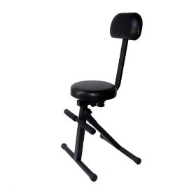 Brand New Tov Dj Chair with Adjustable Height and Back Support and Foot Support