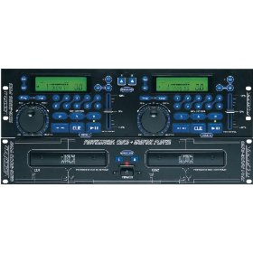 VocoPro CDG-9000Pro Professional Dual Deck CD/CD+G Player with Key Control