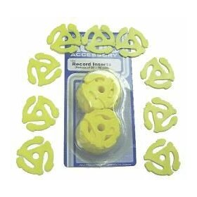 45 RPM Adapters - Inserts for your 7