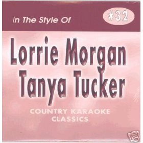 LORRIE MORGAN & TANYA TUCKER Country Karaoke Classics CDG Music CD
