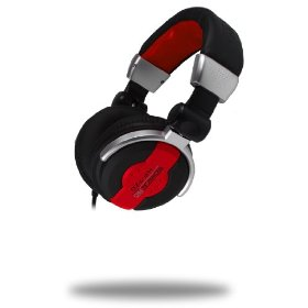 Brand New Technical Pro Hp-720r Swiveling Foldable Compact Dj Headphones with Amazing Sound Quality and Super Bass Drivers **These Have More Bass Than Any Other Dj Headphone**