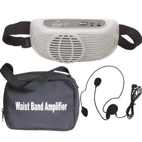 Audio2k Awp6202 Waist-band Portable Pa System with a Headset Microphone