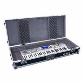 Odyssey FZKB61W Flight Zone Universal 61 Note Keyboard Ata Case With Wheels