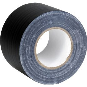 American DJ GT4B Black 4 Inch Gaffers Tape
