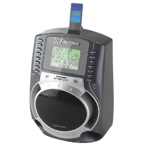Emerson SD512 Portable SD Karaoke MP3 Lyric Player With 3
