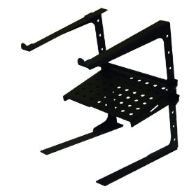 Odyssey LSTANDCOMBO L-Stand Laptop / Gear Stand With Accessory Tray